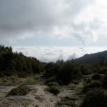 Nuvens nos vales do Caramulo