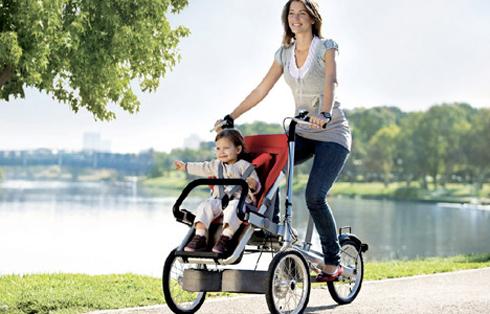 Taga bicicleta carrinho de bebé