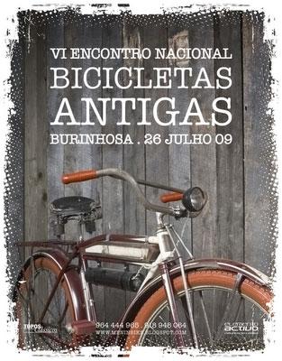 VI Encontro Bicicletas Antigas Burinhosa